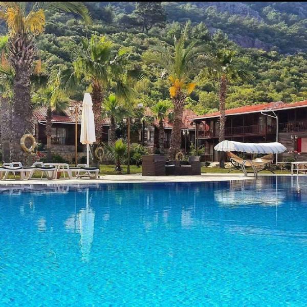 Adrasan Butik Hotel Balayı Tatili Bungalow Odalar